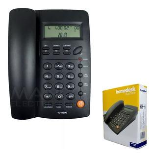Teléfono Alambrico Casa Oficina Homedesk Tc-9200 Fijo /e