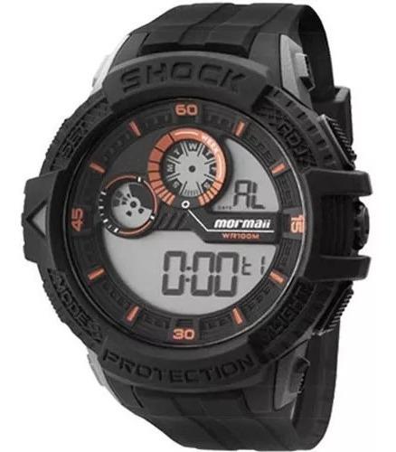Relógio Mormaii Masculino Digital Preto Mo3900/8l