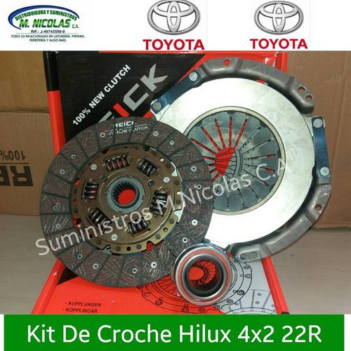 Kit De Croche Embrague Hilux 4x2 22r 98/2005 Japones Complet