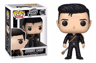 Funko Pop 116 Jhonny Cash In Black