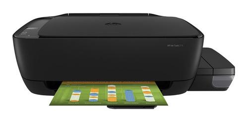 Impresora a color multifunción HP Ink Tank 315 110V negra