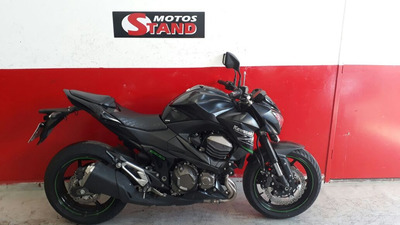 Kawasaki Z 800 Z800 Z-800 2014 Preta Preto