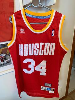 Camiseta Uniforme Nba adidas Hwc Houston Olajuwon Classica P