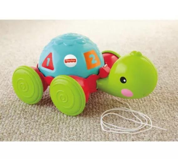 Fisher Price Empurra Tartaruga Baby Mattel Y8652