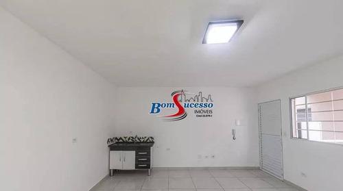 Imagem 1 de 8 de Kitnet Com 1 Dormitório Para Alugar, 25 M² Por R$ 1.100,00/mês - Tatuapé - São Paulo/sp - Kn0008