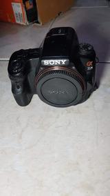 Sony Alpha A37 + Lente - Perfeito Estado Com Caixa.