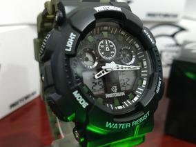 Relógio Estilo G-shock Pretorian Command Wprt-02-2 Nf-e