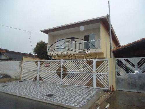 Casa Sobreposta Alta Em Condomínio Fechado No Melvi Em Praia Grande Sp.