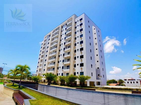 Apartamento Com 2 Dormitórios À Venda, 62 M² Por R$ 270.000 - Cocó - Fortaleza/ce - Ap0683