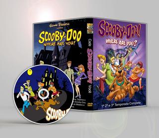 Scooby Doo Cadê Você 1ª 2ª 3ª Tempor Hd 2 Audio Frete Gratis