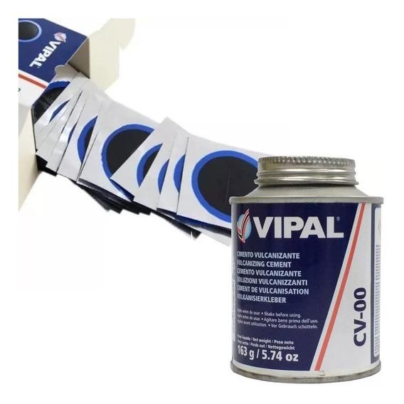Remendo Vipal Rt-3 Pneu Sem Câmara - 60mm + Cola Cv-00