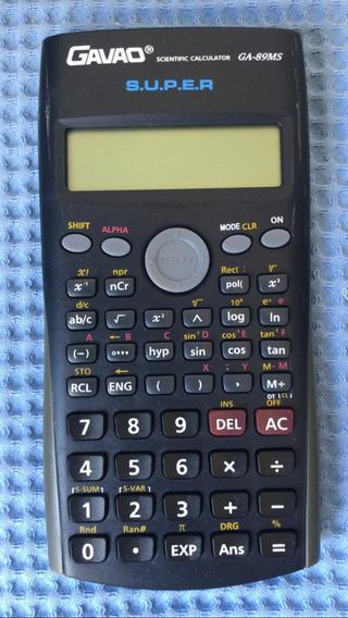 Calculadora Gavao Modelo Ga-89ms Semi-nova E Perfeita