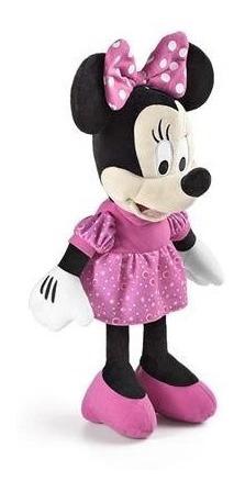 Urso De Pelucia Disney 33cm Com Som Original