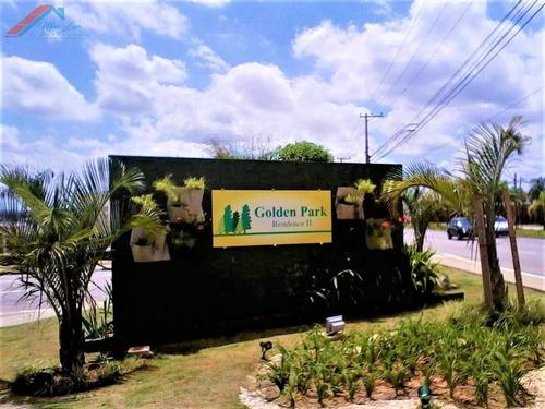 Imagem 1 de 5 de Terreno A Venda No Bairro Jardim Golden Park Residence Em - Te 041-1