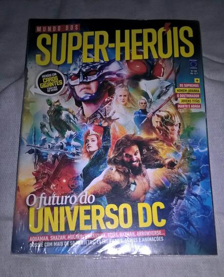 Revista Mundo Dos Super-heróis N° 102 Ed. Europa Universo Dc