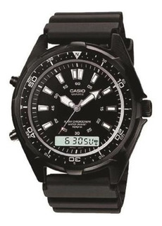 Reloj Casio Hombe 100m Analogo Digital Amw320b-1a B
