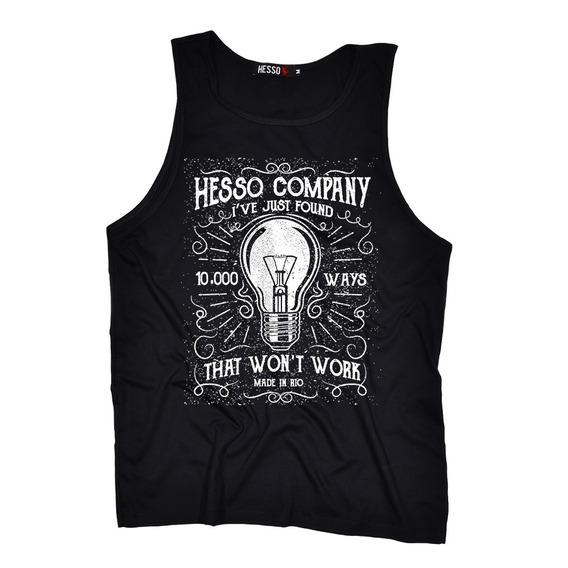 Camiseta Regata Masculina 1000 Maneiras Cavada Melhor Preço