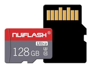 Cartão De Memória 128 Gb Micro Sd Ultra Classe 10