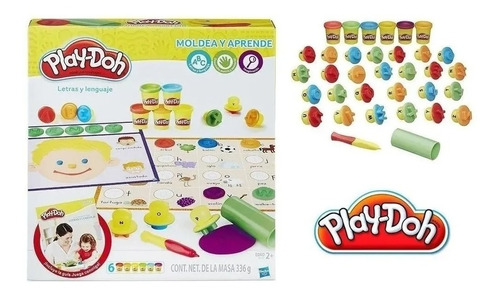 Play Doh - Moldea Y Aprende - Letras Y Lenguaje Hasbro