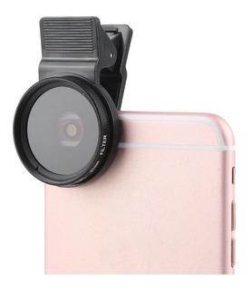 Filtro Cpl Polarizado Para Câmera Celular iPhone Galaxy