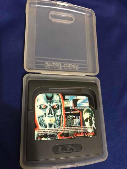 T2 The Arcade Game - Game Gear Japonês - V448