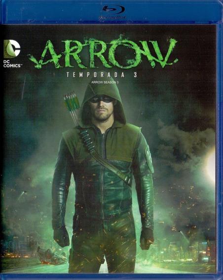 Arrow Tercera Temporada 3 Tres Blu-ray