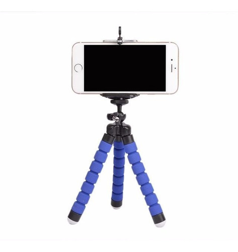 Kit 10 Mini Tripe Flexível Câmeras Celular Suporte Atacado