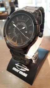 Relógio Mormaii Masculino Preto Aço