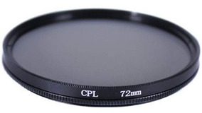 Cpl Polarizador 72mm 28-135mm T2i 550d Canon T5i 70d 7d