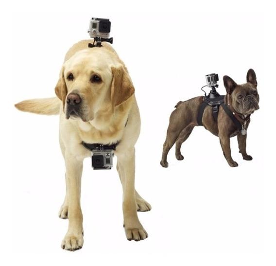 Suporte Cachorro Canino Pet Regulavel Para Cameras Gopro
