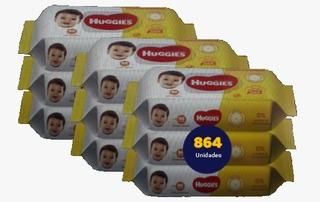 Huggies Toalla Húmeda Limpieza Cotidiana X 864 Unidades