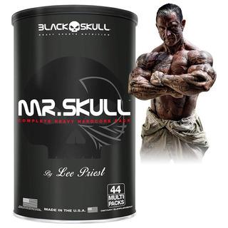 Mr Skull - Melhor Q/ Animal Pack - 44 Packs - Black Skull