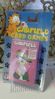 Jogos Vintage Garfield Card Games For Children - Raridade
