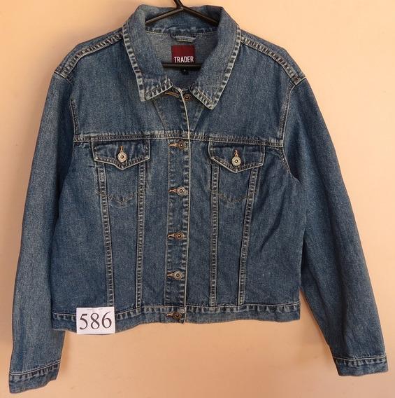 Jaqueta Jeans Da Marca Trader - Tam M Fem - (cod. J586)