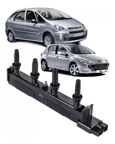 Imagem 1 de 3 de Bobina Ignição C4 C5 E Xsara 2.0 16v Peugeot 307 4 Pinos