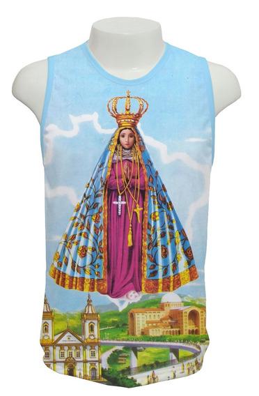 Camiseta Nossa Senhora Aparecida Mod 01 Regata Frete Grátis