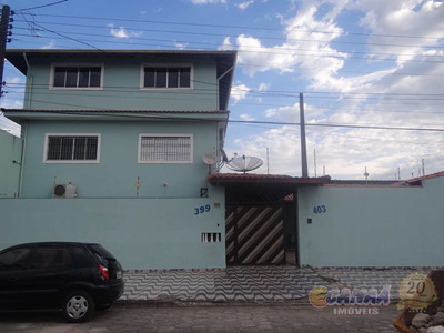 Sobrado Com 3 Dorms, Balneário Jussara, Mongaguá - R$ 350 Mil, Cod: 7263 - V7263