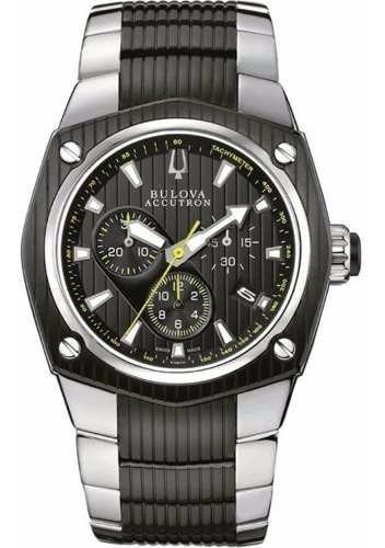 Relógio Bulova Accutron 65b123 Cronografo Promocao