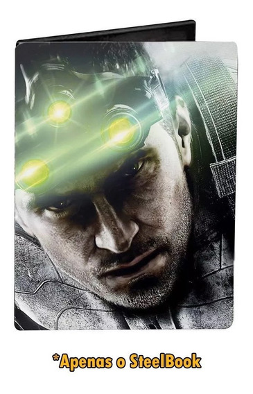 Steelbook Splinter Cell Blacklist Ps3 Xbox 360 - Lacrado