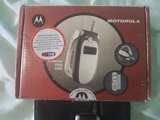 Motorola V555 Completo, Semi Novo (raro, Antigo, Coleção)