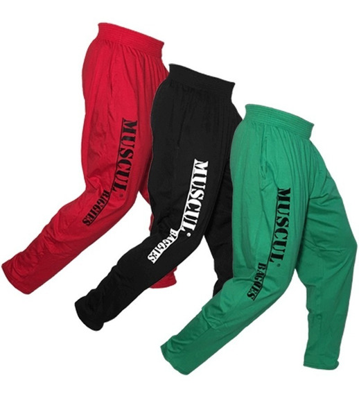 Pantalon Babuchas Algodon Balvanera Chupin Gimnasio Pack X3u