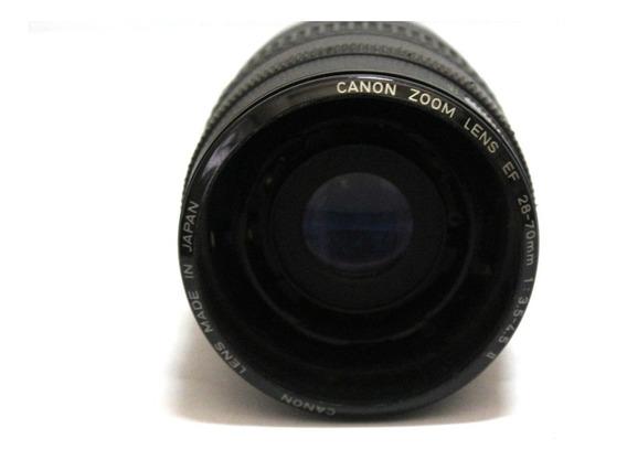 Lente Ef Canon 28-70mm 3.5-4.5 Sucata Para Retirada De Peças