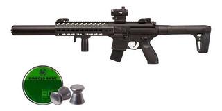 Rifle Sig Sauer Mcx Co2 Rifle + Dot Sight Black Calibre .177