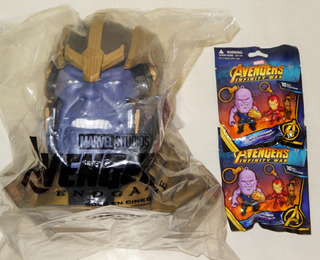 The Avengers Endgame Palomero Thanos Cinemex 2019 Y Llaveros