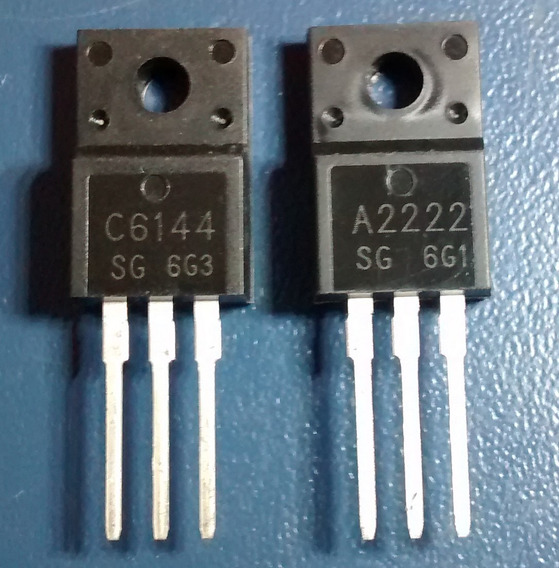 Par Transistor Epson A2222 C6144 - Original