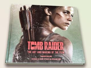 Libro Tomb Raider: The Art And Making Of The Film + Llavero