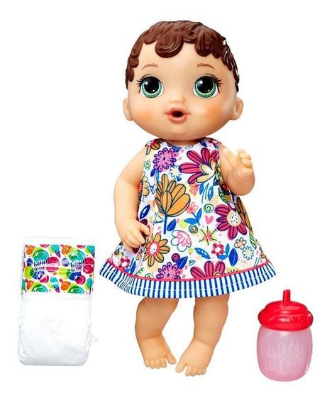 Baby Alive Hora Do Xixi Morena Hasbro - Crianças 3 A 8 Anos