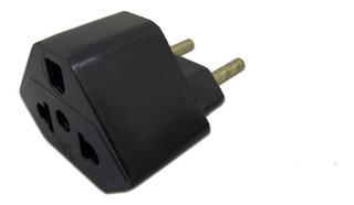Plug Adaptador De Tomada Preto 20 A Universal