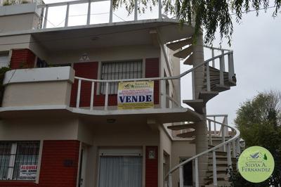 3 Casas En Terreno Multifamiliar Hotelero Pleno Centro De Villa Gesell