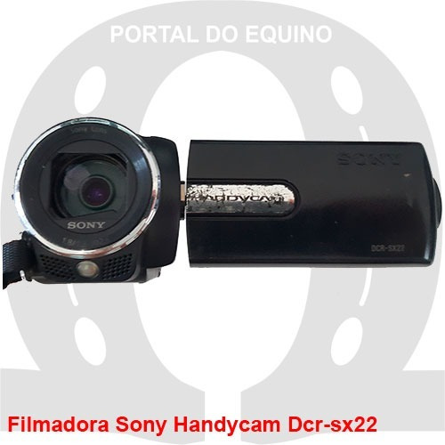 Filmadora Sony Handycam Dcr-sx22